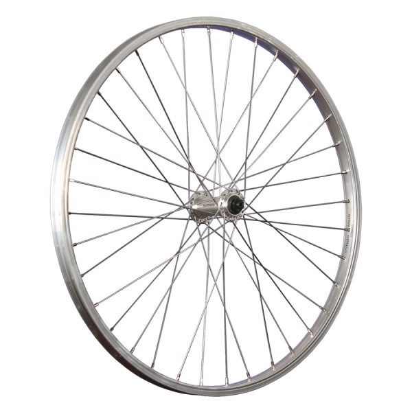 24inch bike front wheel Shimano TX500 507-19 stainless steel silver